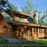 Log Home Photos Cabin Pioneer Homes