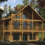 Log Home Plan First Floor Basement Other