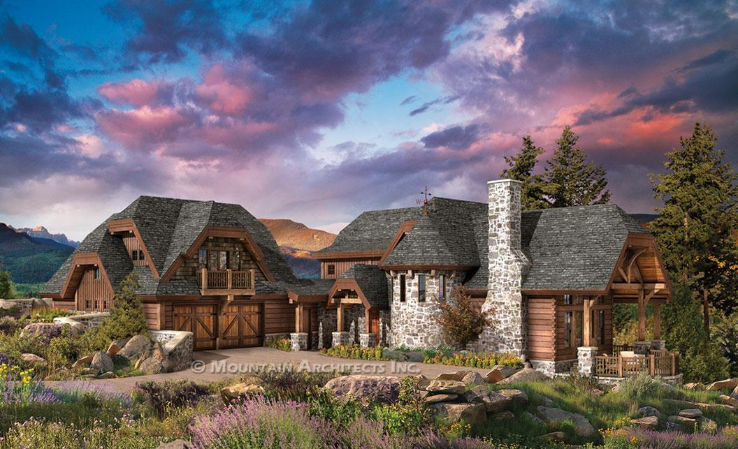 Log Home Plans Luxury Custom Wood Floor