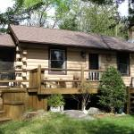Log Home Set Private Acre Hoffman Notch Wilderness
