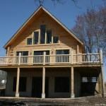 Log Home Staining Issues Tips Ongoing Maintenance
