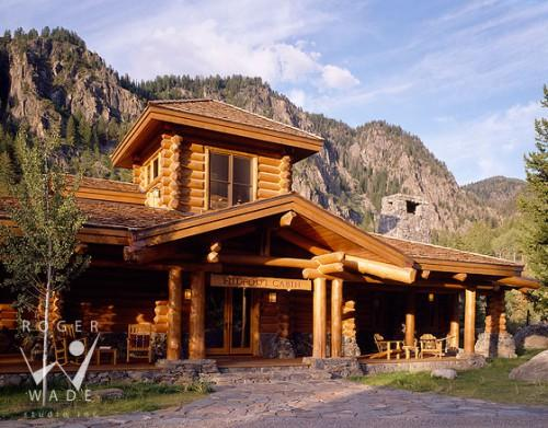 Log Home Steamboat Springs Colorado Edgewood Structures