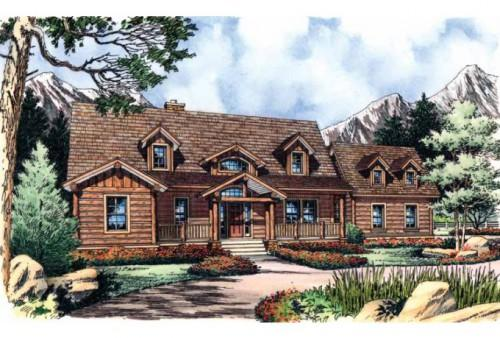 Log Home Style Plans