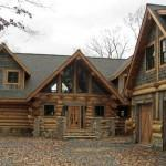Log Homes Canada Rose