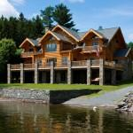 Log Homes Estemerwalt Quality Home Builders