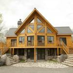 Log Homes Insulated Timber Block Home Show