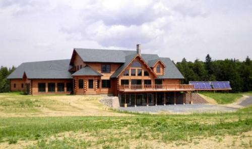 Log Homes Manufacturing Square Foot Lodge Real Estate