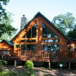 Log Homes Sale Lake Petenwell