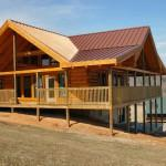 Log Homes Under Construction