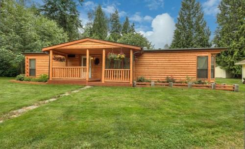 Log Manufactured Homes Home Siding Spanaway