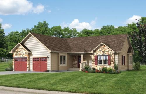 Log Modular Home Indiana