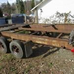 Log Needed Mobile Home Frame Axle
