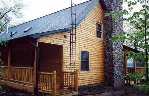 Log Siding Most Economical Way Give Your Home