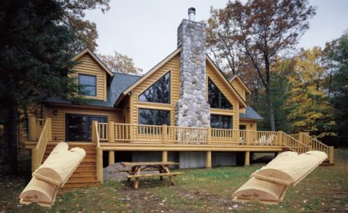 Log Siding Our Most Popular Authentic Home