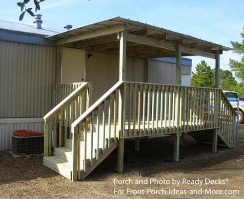 Looking Mobile Home Porch Ideas