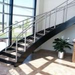Looking Prefabricated Metal Stairs