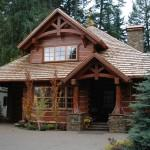 Lot Handcrafted Dovetail Log Home Caribou Creek Timber