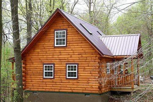 Lovers Loft Real Log Cabin Rent Ohio