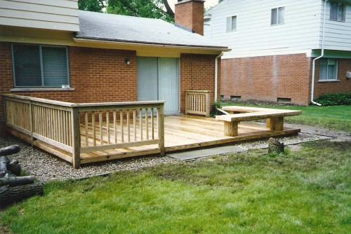 Low Deck Designs Decks Mobile Homes