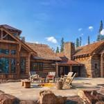 Luxury Big Sky Log Cabins Published Journal Home Magazine