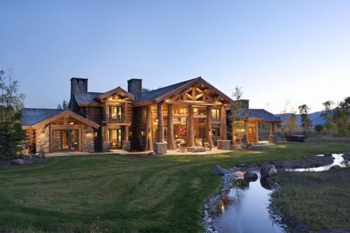 Luxury Log Cabin Homes