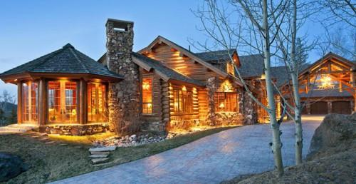 Luxury Log Cabin Luxurious May Not Your First Association