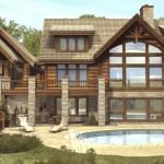 Luxury Log Home Floor Plans