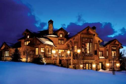 Luxury Log Homes Exterior Owners Home