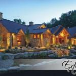 Luxury Log Homes Home Hybrid Amp