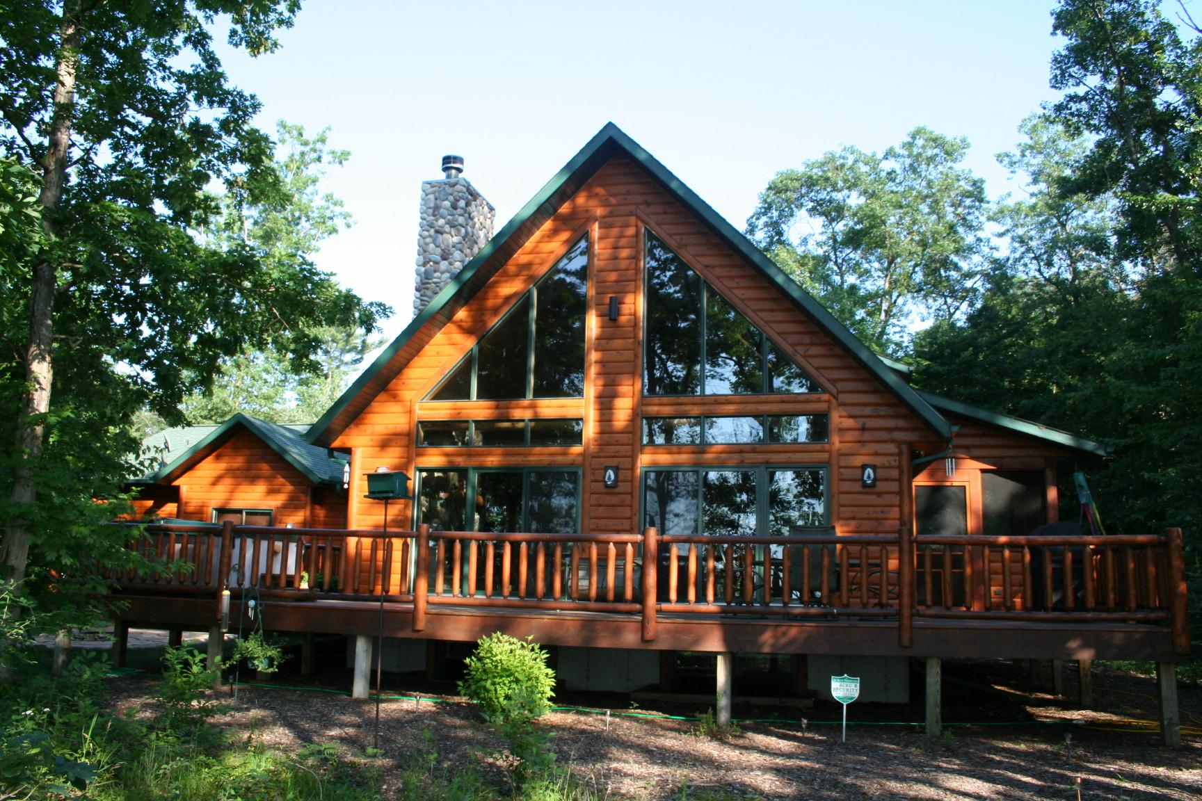 Luxury Log Homes Sale Wisconsin