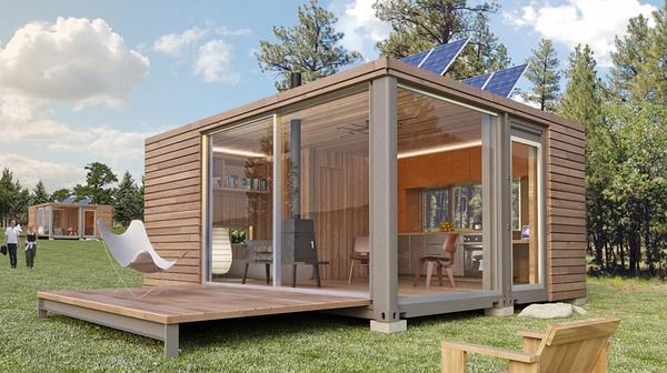 Luxury Prefab Shipping Container Home Sale