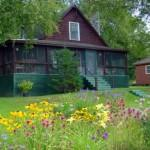 Maine Log Cabin Rental Mooselookmeguntic Lake Rangeley