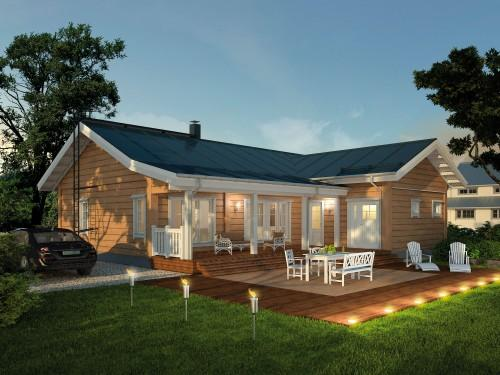Manufactured Home Log Cabins Modular Homes White Chair Outdoor