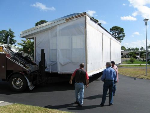 Manufactured Home Moving