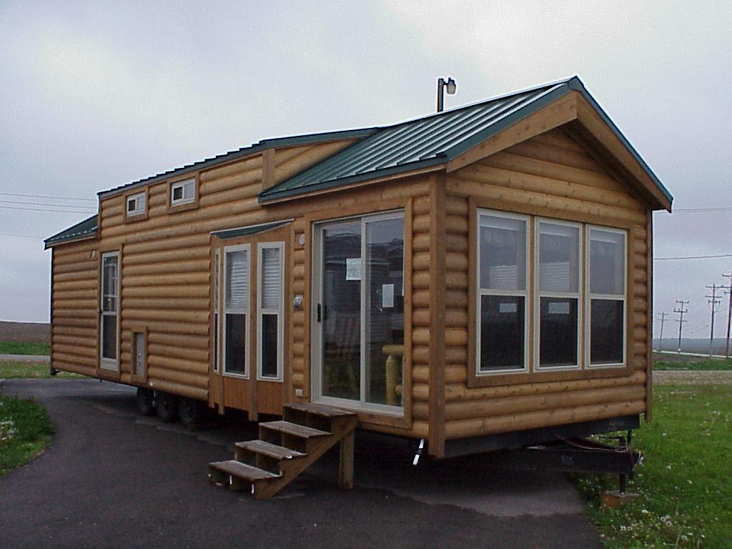 Manufactured Homes Look Like Log Cabins Build Cheap Cabin