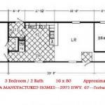 Manufactured Homes Single Wide Mobile Modular Home Floor Plans