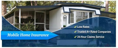 Manufactured Mobile Home Insurance Florida