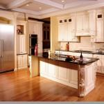 Maple Glaze Prefab Solid Wood Kitchen Bathroom Cabinets