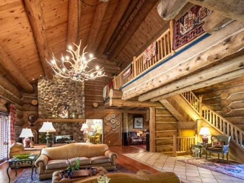 Maple Island Log Home Lake Geneva