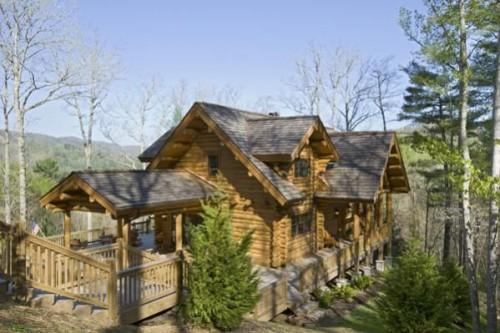 Maple Island Log Homes
