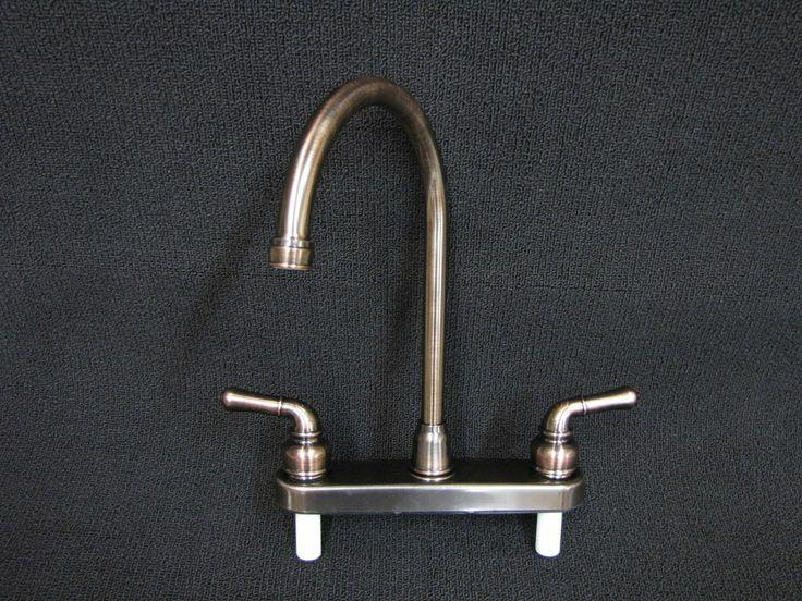 Marine Mobile Home Parts Kitchen Sink Faucet Goose Neck Oil Rubbed