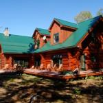 Maritime Log House Restoration Specializes Home Maintenance