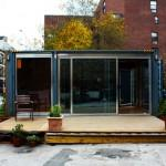 Meka Shipping Containers Prefab Architecture Green