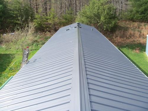 Metal Roof Overs Mobile Homes