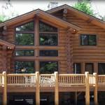 Michigan Log Homes Timber Frame