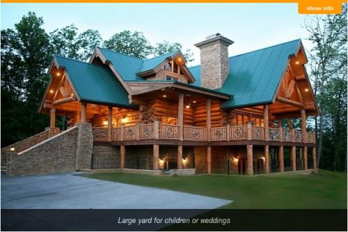 Million Dollar Gatlinburg Cabin Sleeps