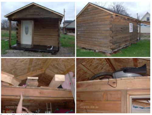Mini Log Cabin Indiana Craigslist