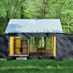 Minimalist Prefab Cottage Modern Design Small Forest