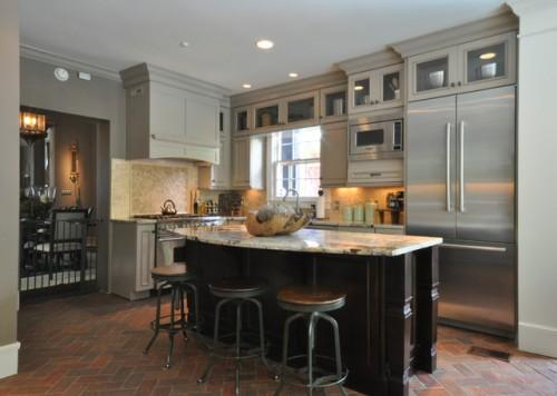 Mobile Alabama Historic Home Kitchen Remodel Traditional