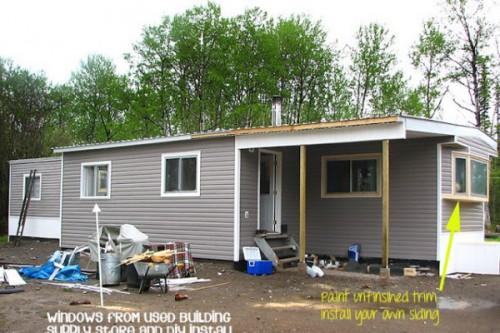 Mobile Home Addition After